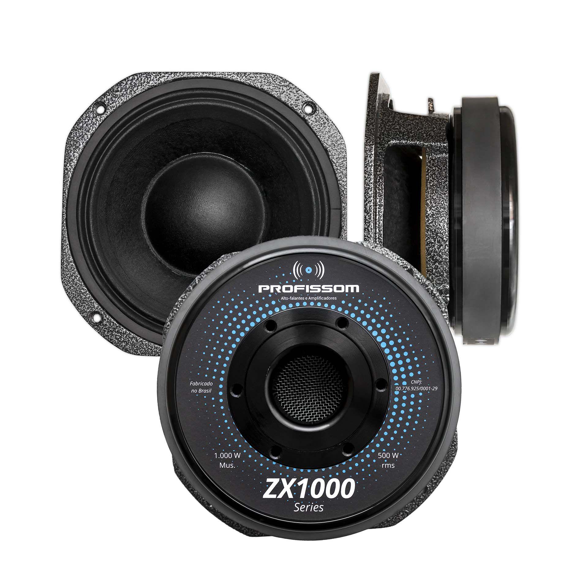 Alto-falante Profissom 8ZX1000.8