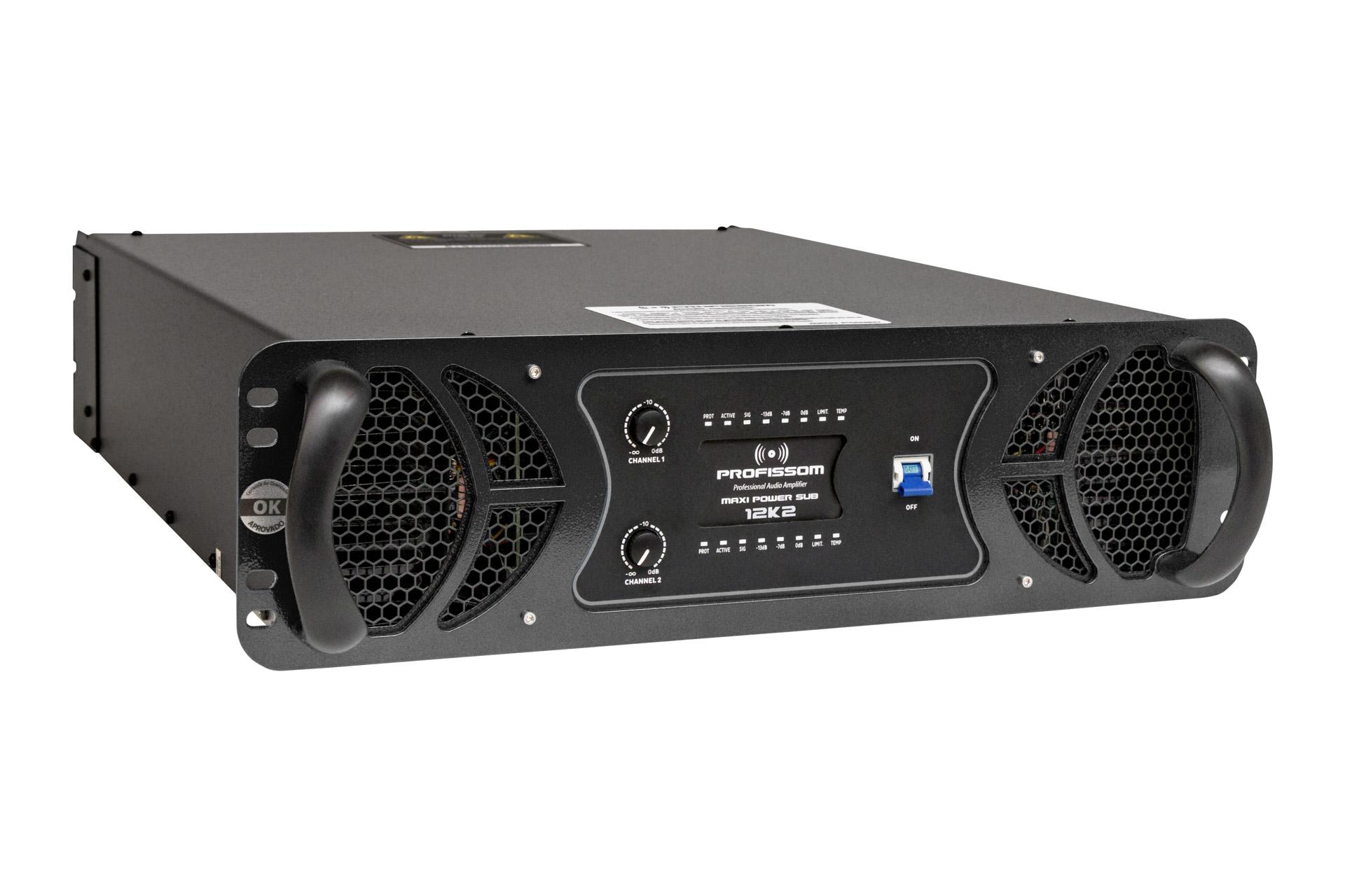 Amplificador Profissom Maxi Power Sub 12K2