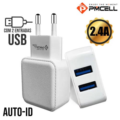 Fonte  Carregadora Power Usb 2.4A Pmcell HC-22