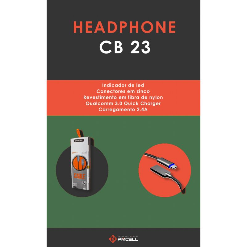 CABO MICRO USB 2.4A PMCELL CB-23-V
