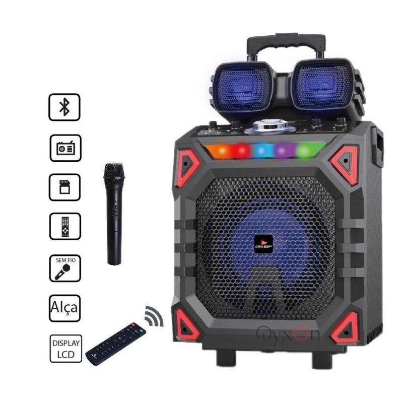 Caixa de Som com Bluetooth Grasep D-D06