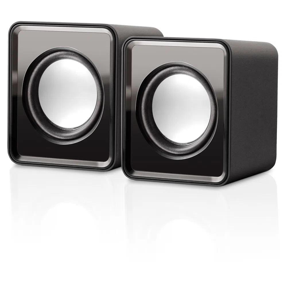 Caixa De Som Mini 2.0 3w Rms Bivolt Usb  Multilaser Sp151