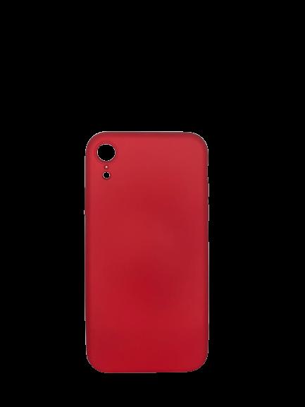 Capa Emborrachada IPhone XR Vermelha Pmcell SC-IXR-VE