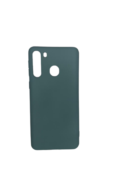 Capa Emborrachada Samsung A21 Verde Escuro Pmcell SC-A21-VES