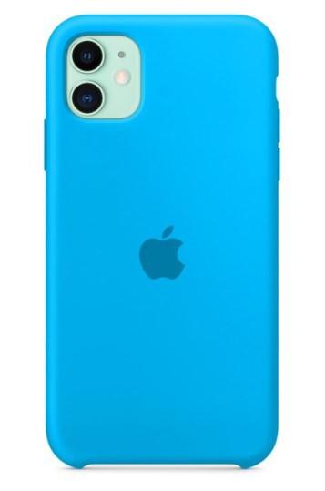 Capa Original Silicone Case IPhone 11 Azul Céu SC-I11-AZC