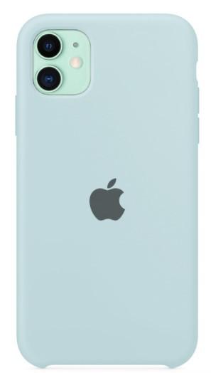Capa Original Silicone Case IPhone 11 Azul Claro SC-I11-AC