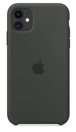 Capa Original Silicone Case IPhone 11 Cinza Grafite SC-I11-CG