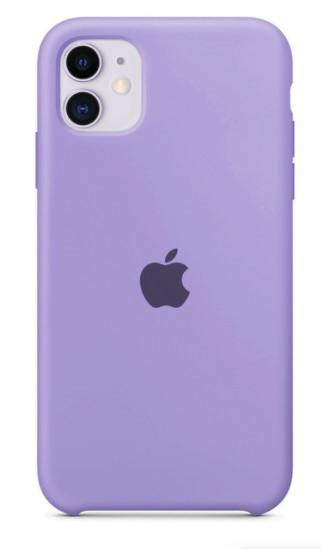 Capa Original Silicone Case IPhone 11 Lilás  SC-I11-LI