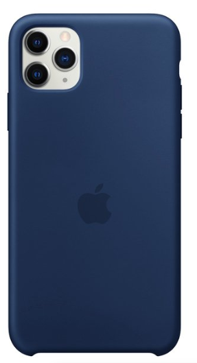 Capa Original Silicone Case IPhone 11 Pro Max Azul Marinho SC-11PROMAX-AZM