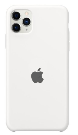 Capa Original Silicone Case IPhone 11 Pro Max Branca SC-11PROMAX-BR