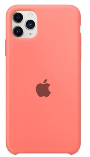 Capa Original Silicone Case IPhone 11 Pro Max Rosa Bebê SC-11PROMAX-RB