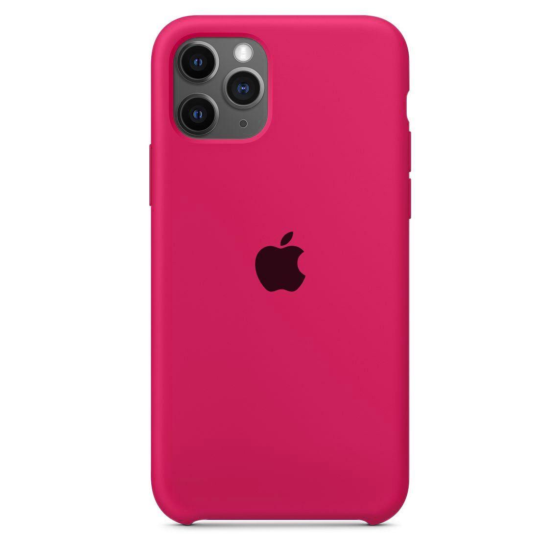 Capa Original Silicone Case IPhone 11 Pro Max Rosa Pink SC-11PROMAX-RP