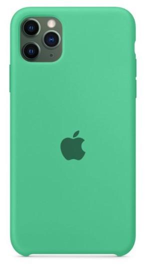 Capa Original Silicone Case IPhone 11 Pro Max Verde Claro SC-11PROMAX-VC