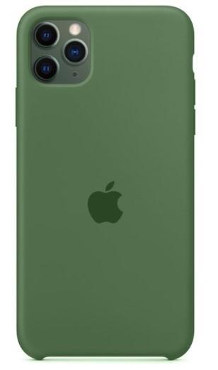 Capa Original Silicone Case IPhone 11 Pro Max Verde Escuro SC-11PROMAX-VE