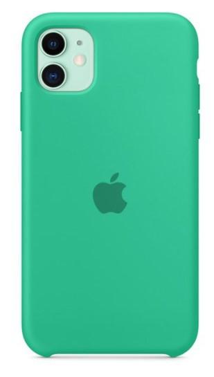 Capa Original Silicone Case IPhone 11 Verde Claro SC-I11-VC