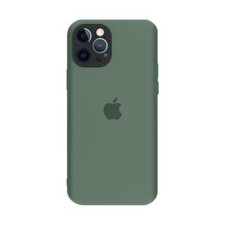 Capa Original Silicone Case IPhone 12PROMAX  6.7 Verde Militar SC-12PROMAX-6.7-VMI