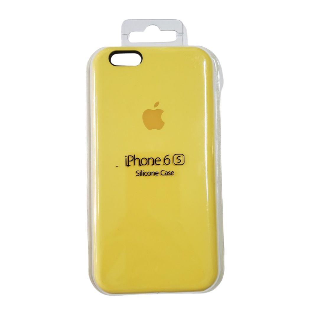 Capa Original Silicone Case IPhone 6/ 6s Amarela  SC-I6-AM