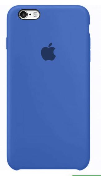 Capa Original Silicone Case IPhone 6/ 6s Azul Bic  SC-I6-AB