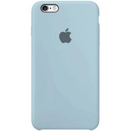 Capa Original Silicone Case IPhone 6/ 6s Azul Claro SC-I6-ACL