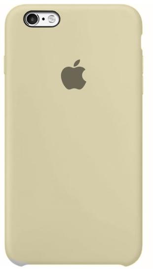 Capa Original Silicone Case IPhone 6s Plus Bege SC-I6P-BE
