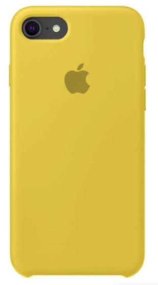 Capa Original Silicone Case IPhone 7/8 Amarela SC-I7-AM