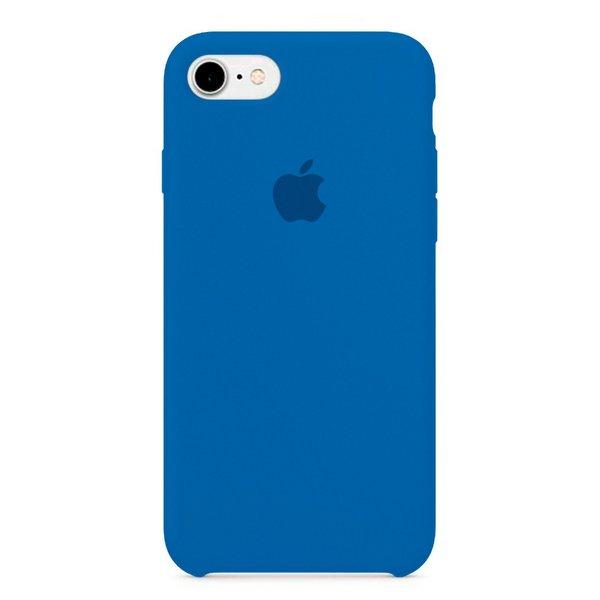 Capa Original Silicone Case IPhone 7/8 AZUL SC-I7-AZ