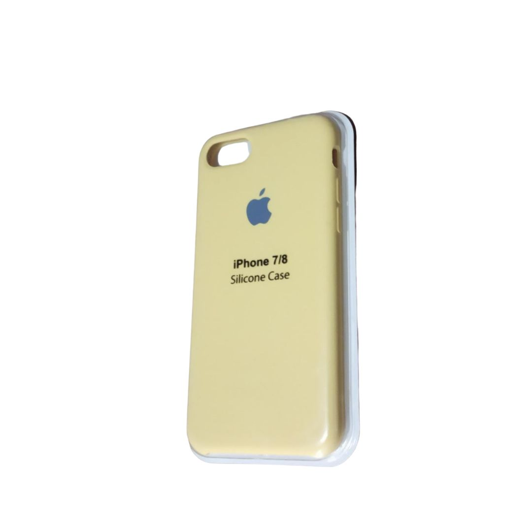Capa Original Silicone Case IPhone 7/8 Bege SC-I7-BE
