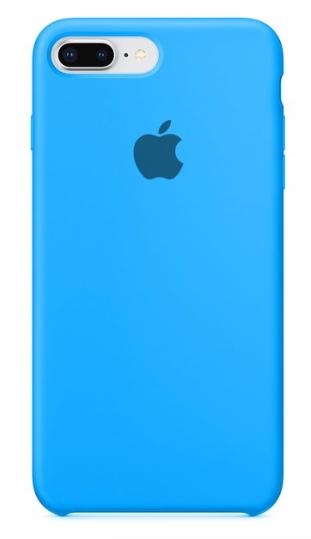 Capa Original Silicone Case IPhone 7/8 PLUS Azul Céu