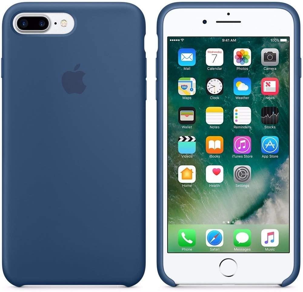 Capa Original Silicone Case IPhone 7/8 PLUS Azul Escuro SC-I7P-AE