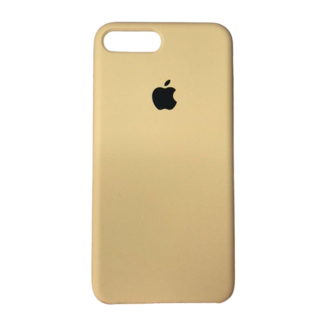 Capa Original Silicone Case IPhone 7/8 Plus Bege