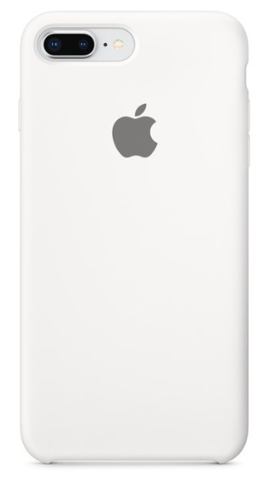 Capa Original Silicone Case IPhone 7/8 PLUS Branca