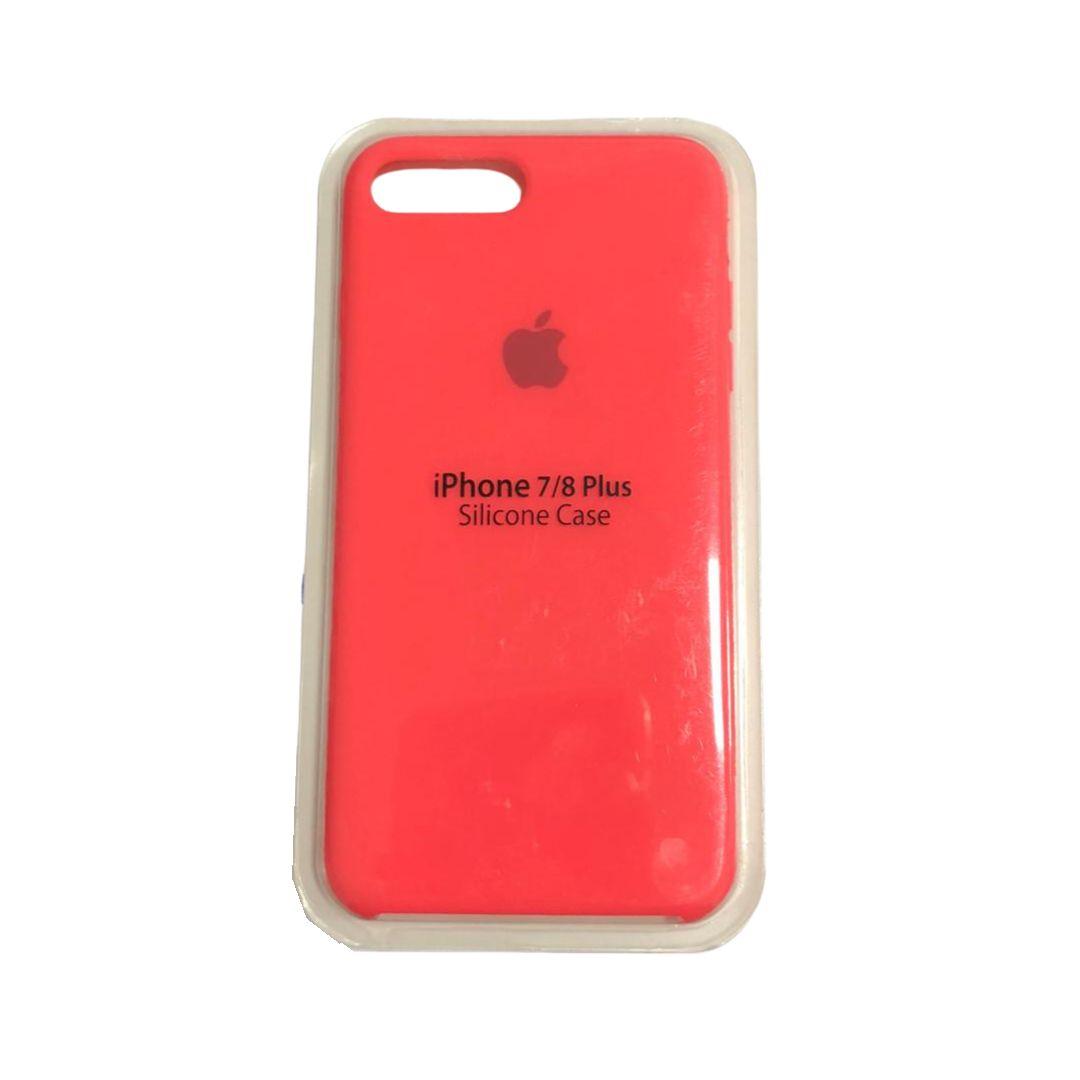 Capa Original Silicone Case IPhone 7/8 Plus Neon