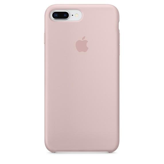 Capa Original Silicone Case IPhone 7/8 PLUS Rosa Bebê