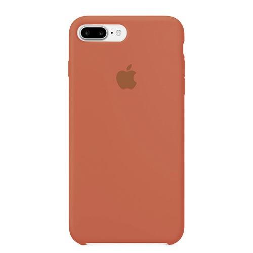 Capa Original Silicone Case IPhone 7/8 Plus Salmão SC-I7P-SA