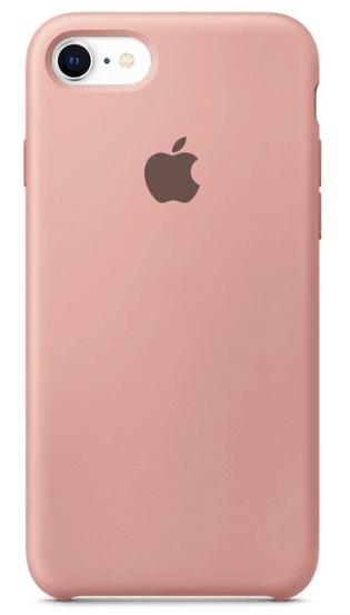 Capa Original Silicone Case IPhone 7/8 Rosa Bebê SC-I7-RB