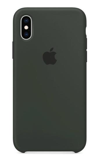 Capa Original Silicone Case IPhone X/XS Cinza SC-X/XS-CI