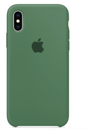 Capa Original Silicone Case IPhone X/XS Verde Militar SC-X/XS-VM