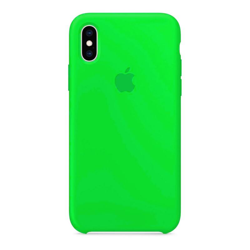 Capa Original Silicone Case IPhone X/XS Verde Neon SC-X/XS-VN