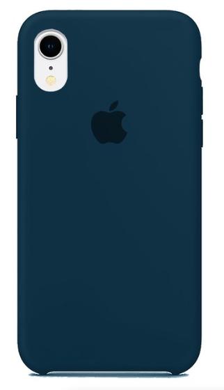 Capa Original Silicone Case IPhone XR Azul Marinho SC-IXR-AZM