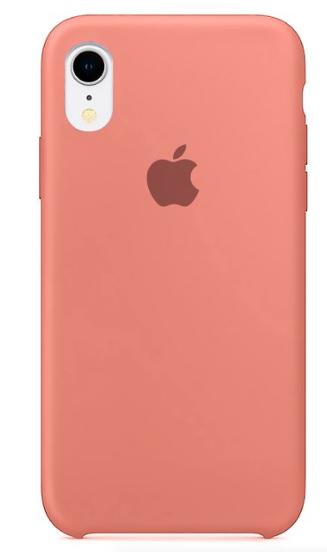 Capa Original Silicone Case IPhone XR Salmão SC-IXR-SA