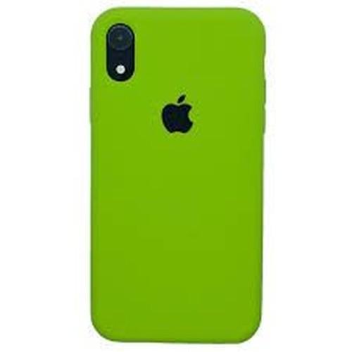 Capa Original Silicone Case IPhone XR Verde Abacate SC-IXR-VA