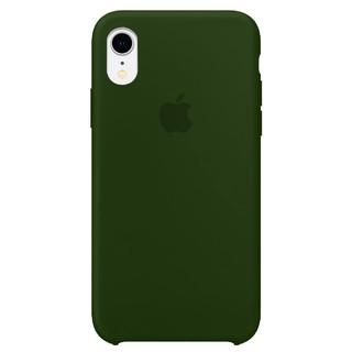 Capa Original Silicone Case IPhone XR Verde Militar SC-IXR-VMI