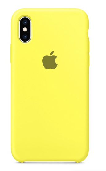 Capa Original Silicone Case IPhone XSMAX Amarela SC-XSMAX-AM