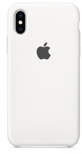 Capa Original Silicone Case IPhone XSMAX Branca SC-XSMAX-BR