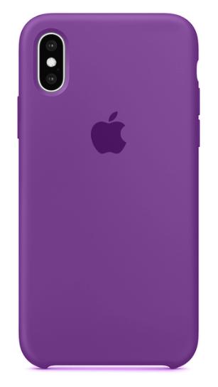 Capa Original Silicone Case IPhone XSMAX Roxo SC-XSMAX-RO