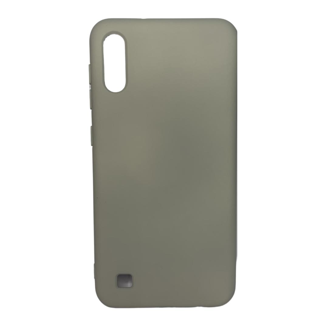 Capa Original Silicone Case Samsung A10 Cinza SC-A10-CI
