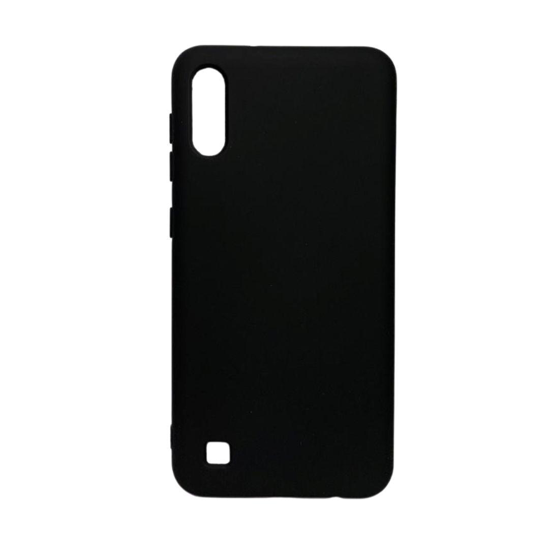 Capa Original Silicone Case Samsung A10 Preta SC-A10-PR