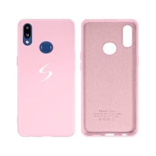 Capa Original Silicone Case Samsung A10S Rosa Bebê SC-A10S-RB