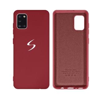 Capa Original Silicone Case Samsung A31 Bordô SC-A31-BO