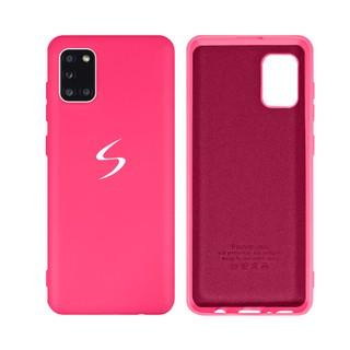 Capa Original Silicone Case Samsung A31 Rosa Pink SC-A31-RP